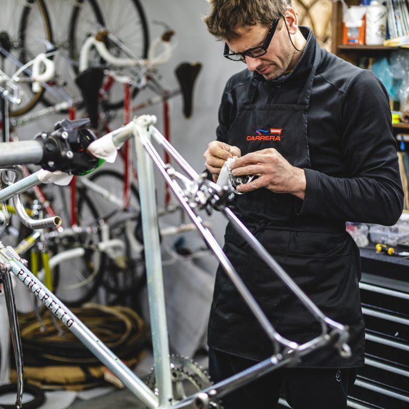 Rok Stubelj workshop vintage bikes restoration